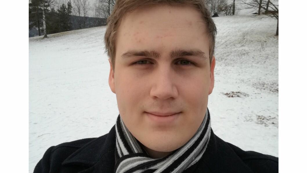 TVANGSTANKER: Marius Munthe-Kaas har i varierende alvorlighetsgrad slitt med tvangslidelse siden han var 6 år gammel. Foto: Privat