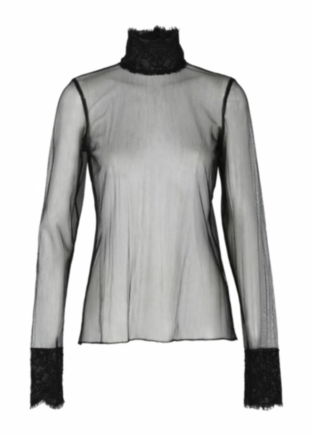 <strong>Topp fra Dorothee Schumacher | kr 3463 | https:</strong>//www.dorothee-schumacher.com/en/blouses/feminine-energy-blouse-sleeve-11-pure-black-181766.181776