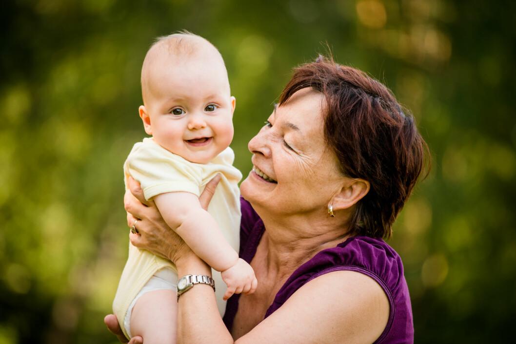 BAREBARN: Det er ingen tvil om at tilværelsen som bestemor eller bestefar er med på å holde oss «evig unge». Foto:  Foto: NTB Scanpix