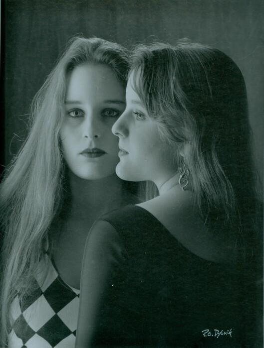 ALLTID SAMMEN: Her er Inga og Elin sammen i 1996. Foto: Privat