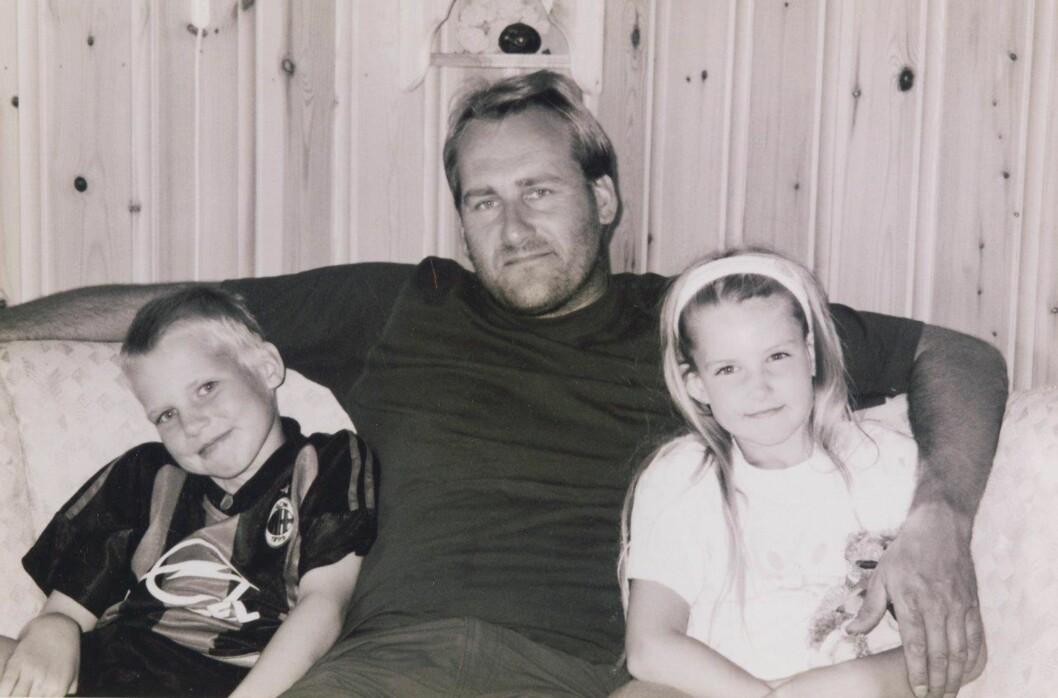 MISTET FAR OG BROR: Elise mistet både broren og faren på fire år. . Jeg klarte ikke å skjønne det. Foto: Privat