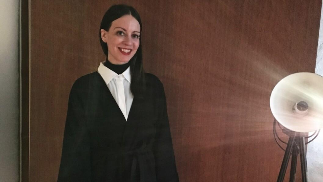 VERONICA B.VALLENES: Den norske designeren er klar for å vise frem kolleksjonen sin for høsten 2017 under årets Oslo Runway. Foto: KK.no