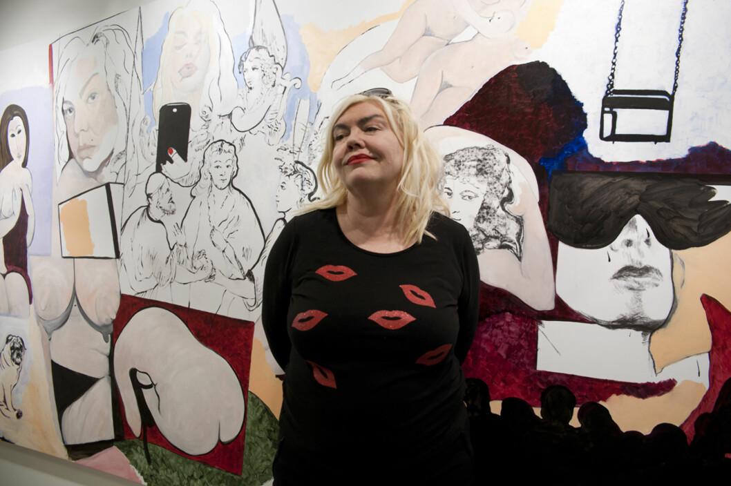 UTSTILLING: Utstillingen «er jeg fin nok for deg» åpner 9. februar på Galleri Fineart i Oslo.