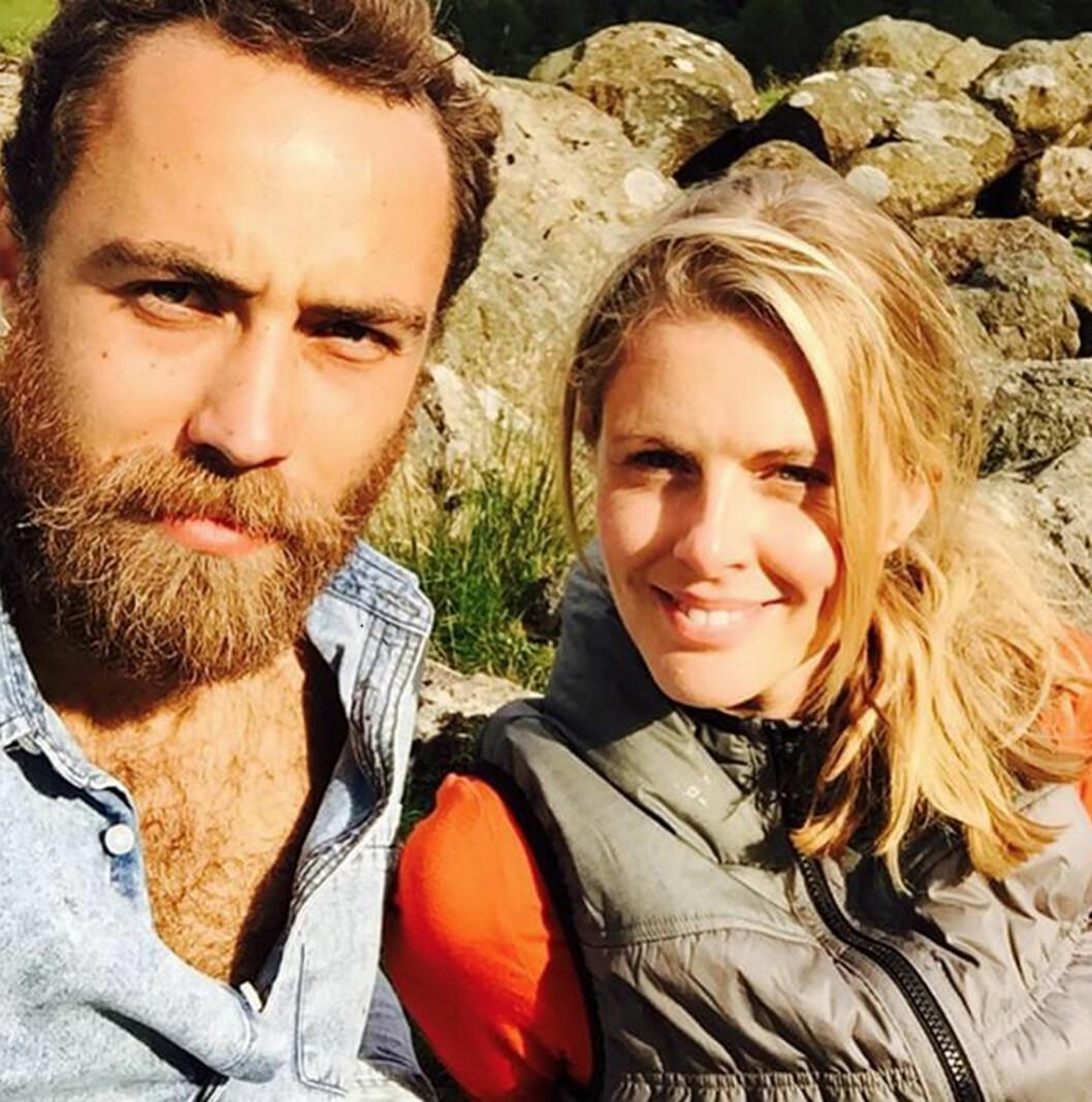 <strong>KJÆRESTEN:</strong> James Middleton har vært sammen med den britiske TV-profilen Donna Air siden februar 2013.  Foto: NTB Scanpix