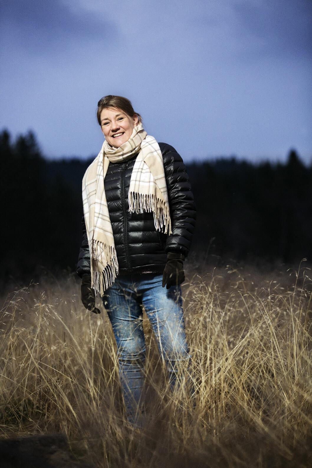BLI ORGANDONOR: Takket være at noen sa «ja», fikk Lene leve videre. Hun vet hvor mye det betyr at vi alle tar stilling til om vi vil være donorer eller ikke. Foto: Sverre Chr. Jarild