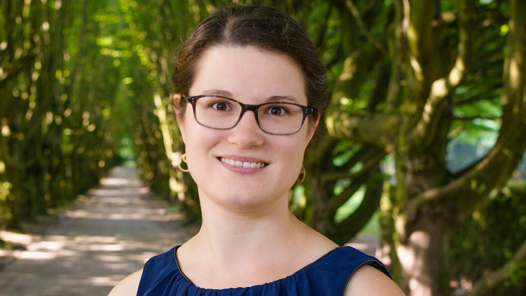 FØDSELSPSYKOSE: Etter fødselen ble Grethe lagt inn på psykiatrisk avdeling.  Foto: Jette Nielsen
