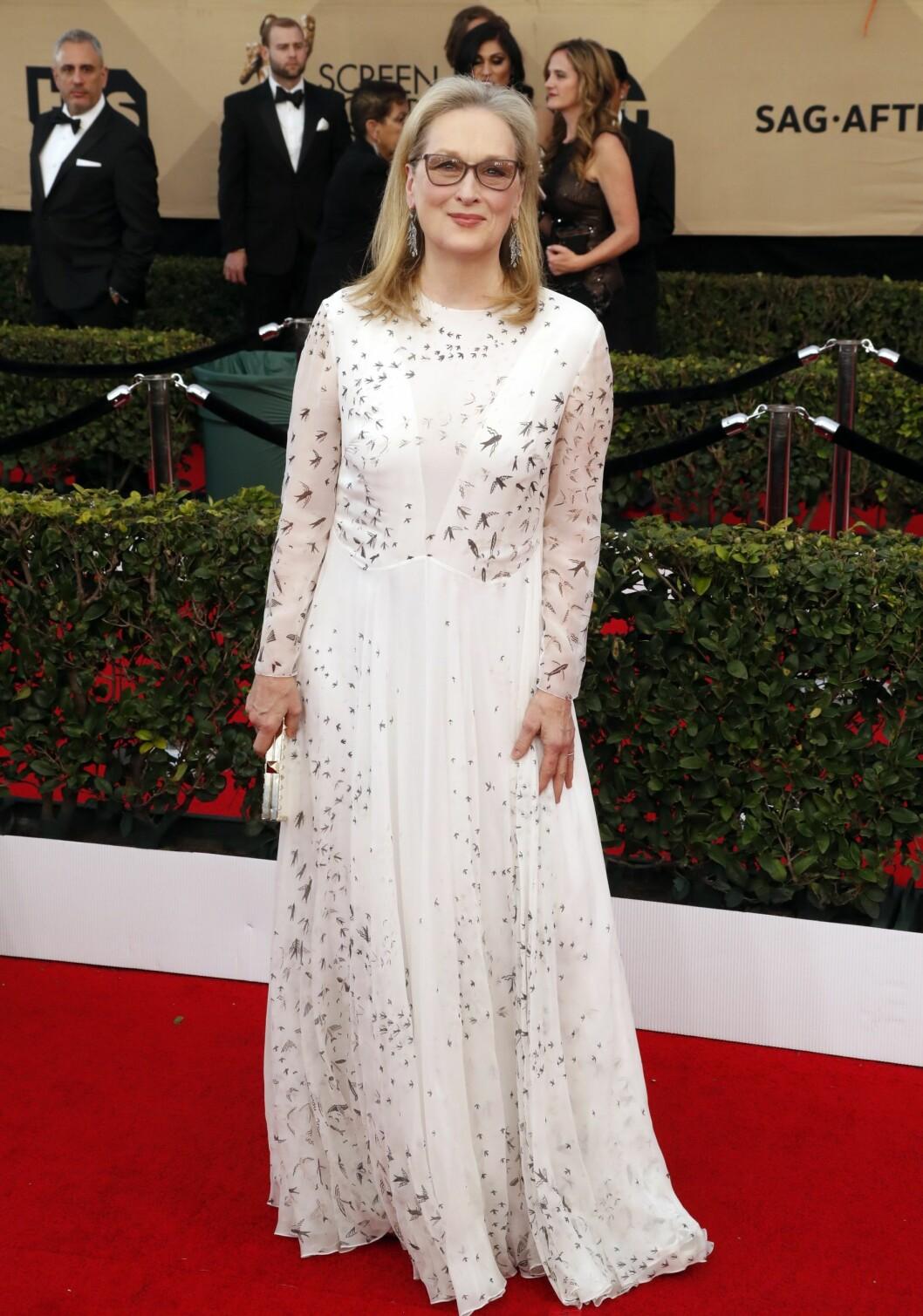 SAG AWARDS 2017: Meryl Streep i Valentino Foto: Epa