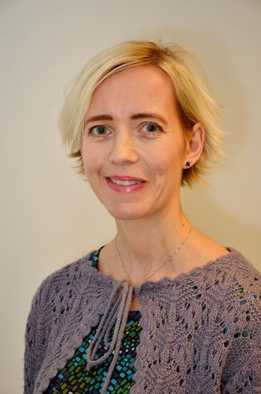 <strong>EKSPERT:</strong> Førsteamanuensis ved Universitetet i Agder, Heidi Omdal, har en doktorgrad i spesialpedagogikk med fokus på selektiv mutisme og har i tillegg skrevet bok om emnet. Foto: FOTO: Universitetet i Agder