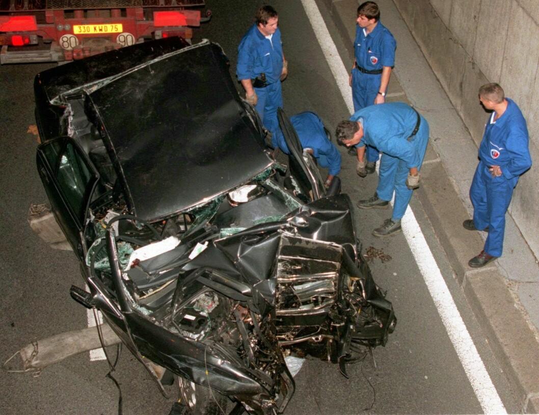 <strong>FATAL ULYKKE:</strong> Bilulykken skjedde i tunellen Pont d'Alma i Paris. Paret var på vei til Dodi Fayeds leilighet ved den verdensberømte turistattraksjonen Triumfbuen da ulykken inntraff. Foto: NTB Scanpix