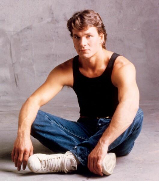 DEN ULTIMATE KJEKKASEN: Patrick Swayze smeltet mangt et ungpikehjerte i 1987 da han portretterte proffdanseren Johnny Swayze i Dirty Dancing - og gjør det fremdeles den dag i dag. Foto:  Foto: NTB Scanpix