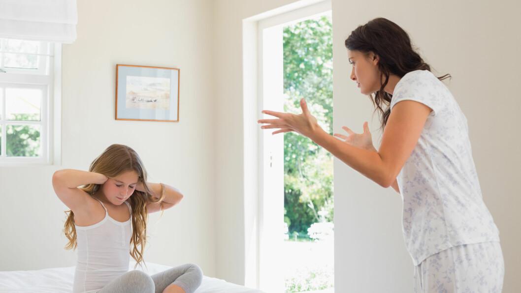 LIKER IKKE BARNET: Kjenner du at du lurer på om du i det hele tatt liker barnet ditt, er ikke det så uvanlig som du kanskje tror, og det kan lønne seg å snakke med noen om følelsene dine.  Foto: Scanpix