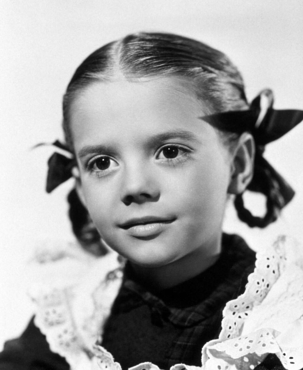 BARNESTJERNE: Natalie Wood fikk hovedrollen i «Miracle on 34th street» da hun bare var 9 år gammel.  Foto: NTB scanpix