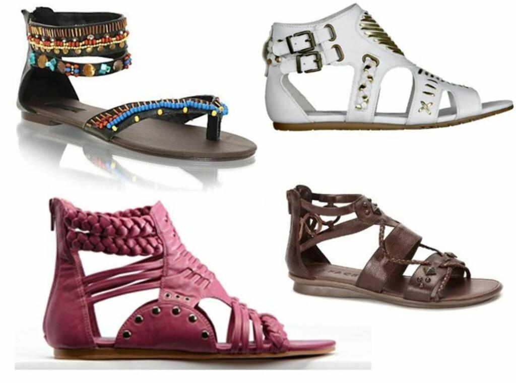 82a98424 Sko: 16 kule sandaler - KK