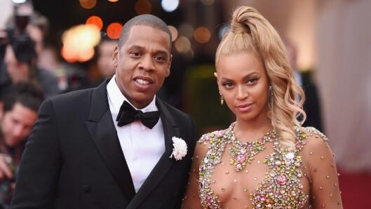 UTROSKAPSRYKTER: Beyoncé sitt nye album «Lemonade» inneholder en rekke låter som omhandler løgner og svik, som fikk utroskapsryktene til å svirre. Men det var ikke Jay Z som fikk gjennomgå det verste. Foto: Coppola/Getty Images/AFP