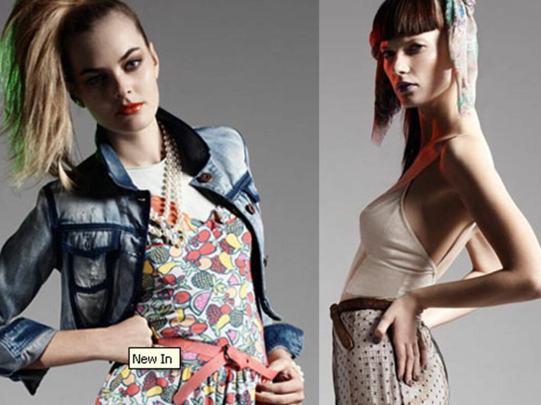 ENN SÅ LENGE er Topshops klær bare tilgjengelig for oss i nettbutikken. Men i 2011 åpner den første butikken.  Foto: Topshop