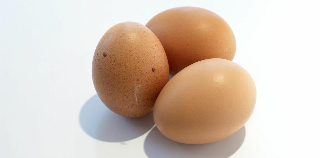 <strong>EFFEKTIVT VALG:</strong> Eksperter mener proteiner, som blant annet egg er rik på, gir deg metthetsfølelsen som varer lengst. Foto: colourbox.com
