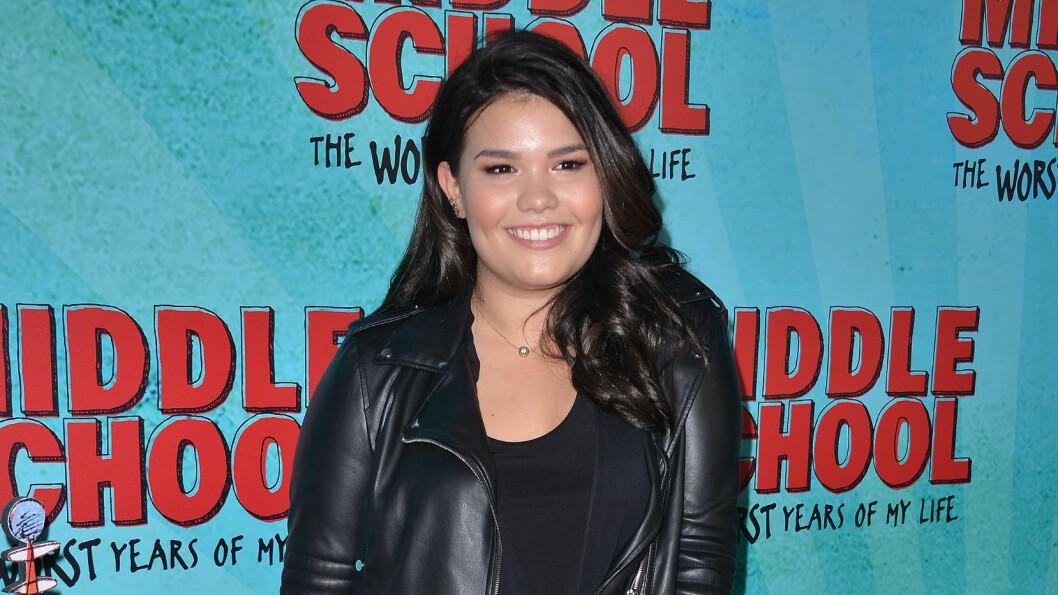 FRUSTRERTE FRUER: Madison De La Garza spilte Juanita Solis, datteren til Gabrielle og Carlos Solis, i «Frustrerte fruer». Foto: SipaUSA