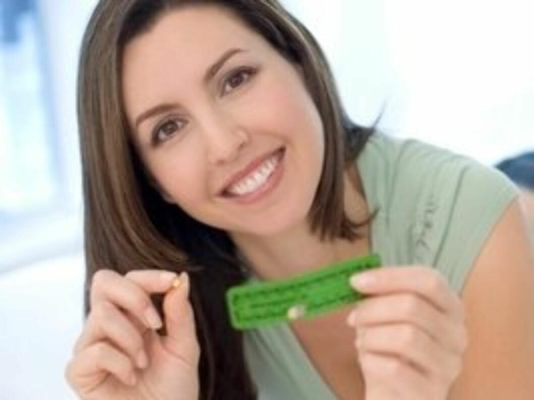 POPULÆR PILLE: P-pillen er den mest populære prevensjonsformen blant norske kvinner. Foto: Science Photo Library