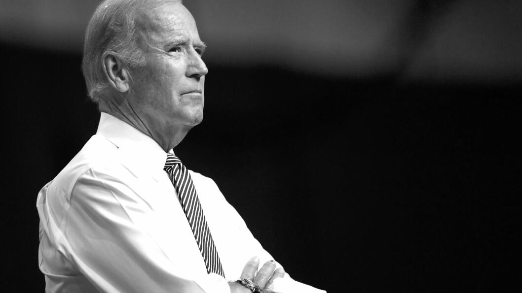 JOE BIDEN: Visepresidenten har vært gjennom mye sorg i løpet av sine 74 år. Foto: Scanpix