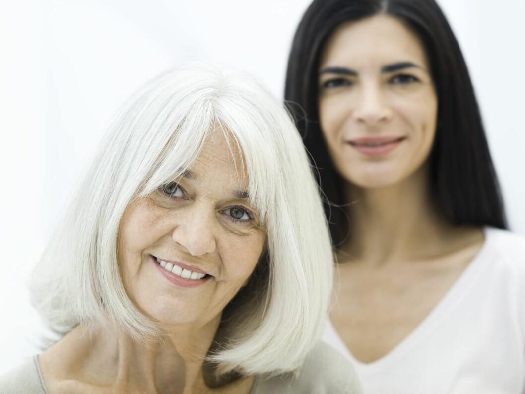 Kan du gjøre noe med kroppsformen din, eller må du bare akseptere at det er en arv fra moren din? Foto: colourbox.com