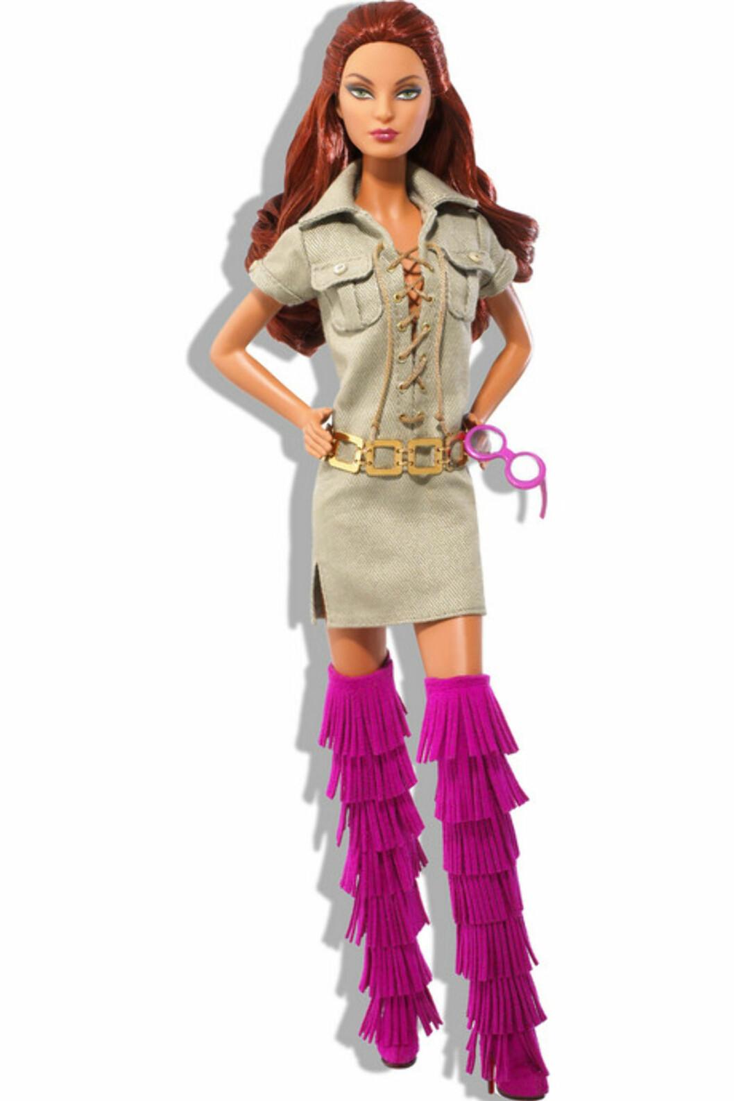 Dette er i alle fall noe helt annet enn den Barbie-dukken vi husker fra 1980-tallet...