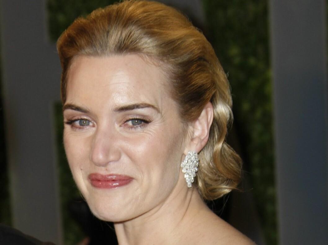 Kate Winslet ser ut som en diva med denne frisyren. Foto: All Over Press