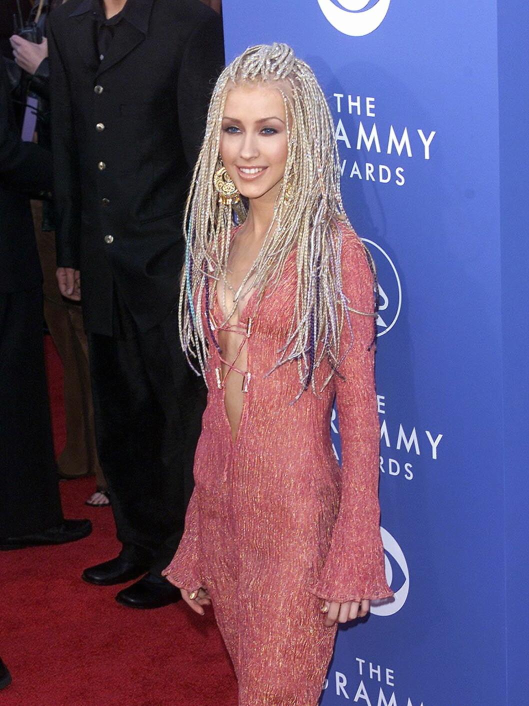 Hippie-inspirert look på Grammy-utdelingen i 2001. Foto: All Over Press