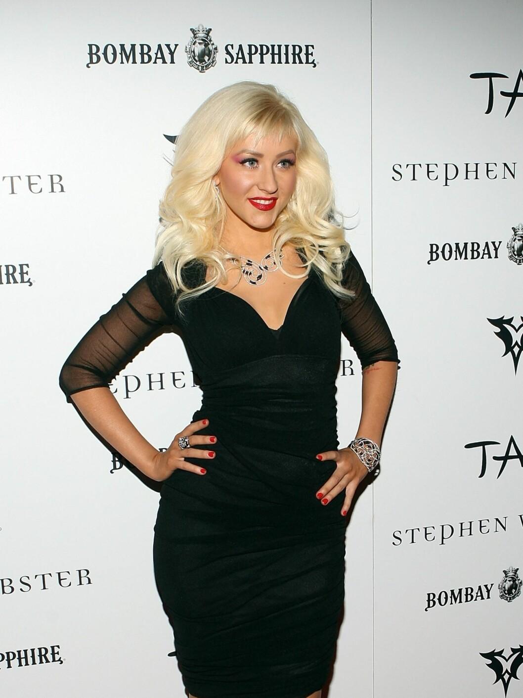 Christina har de siste par årene beveget seg mot en mer voksen og klassisk stil. Foto: All Over Press