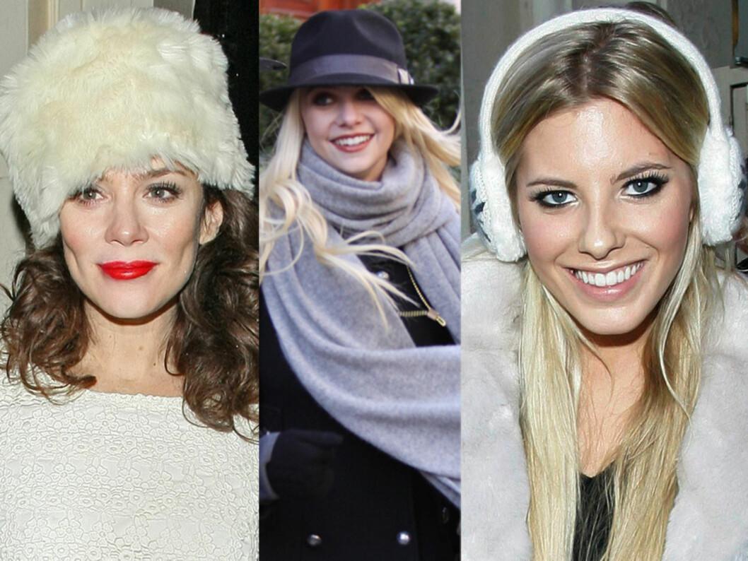 Anna Friel, Taylor Momsen og Mollie King er stjerner som har funnet vinterstilen.