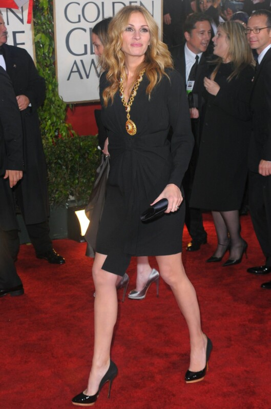 IKKE GALLA: Julia Roberts. Foto: All Over Press