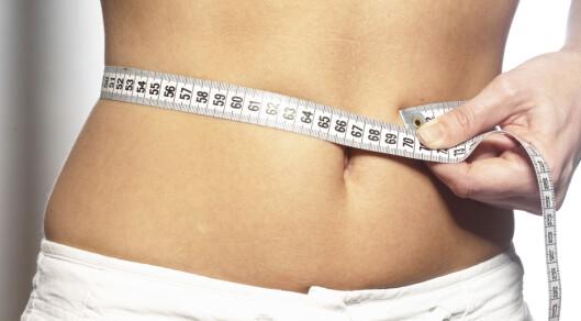 Du trenger ikke å gå ned mye for å få store helsegevinster. Foto: colourbox.com