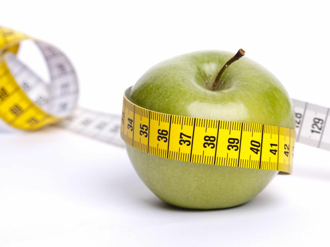 Men epledietten virker jo ganske sunn, da? Eller? Foto: colourbox.com