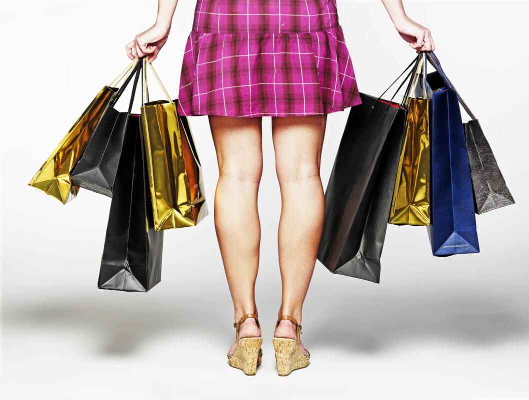 Ifølge den nye studien er kvinners trang til shopping et urinstinkt. Foto: colourbox.com