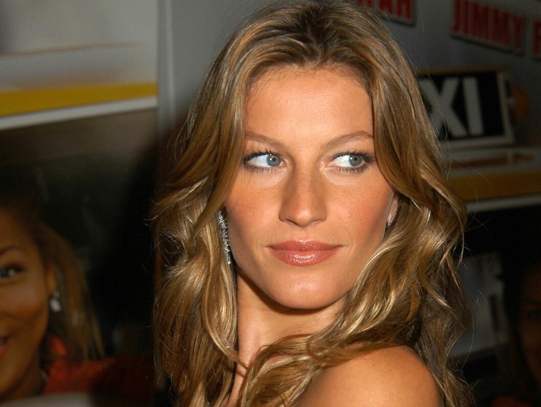 POPULÆR: Hun topper en rekke lister. Nå er Gisele også kåret til den modellen som er mest verdt. Foto: All Over Press
