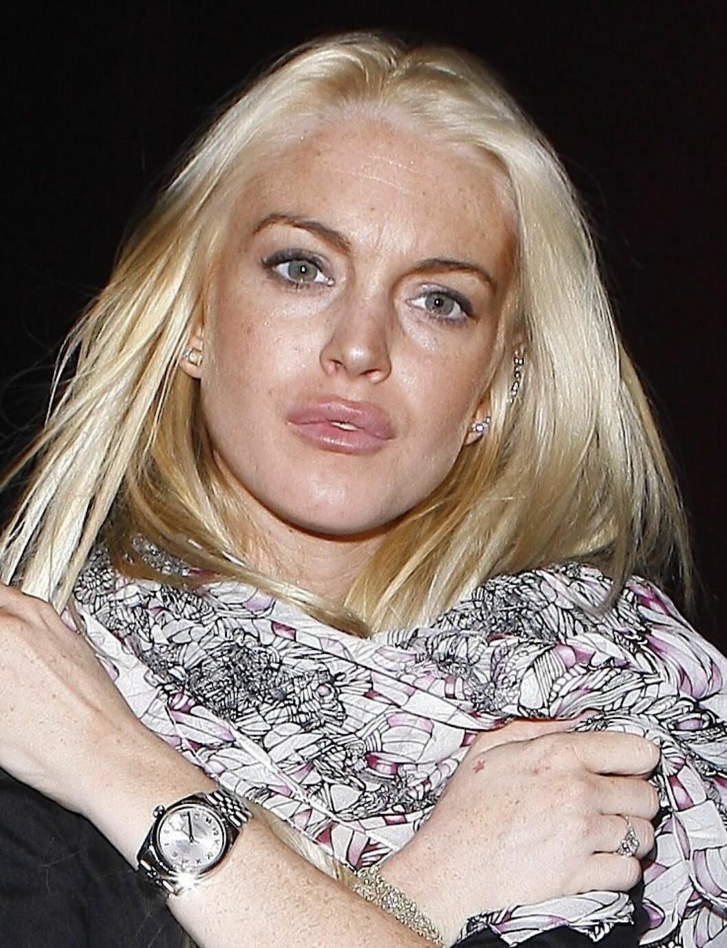 Skuespiller Lindsay Lohans nye kjøpelepper har fått mye oppmerksomhet i media. Før operasjonen var leppene betraktelig smalere.  Foto: All Over Press