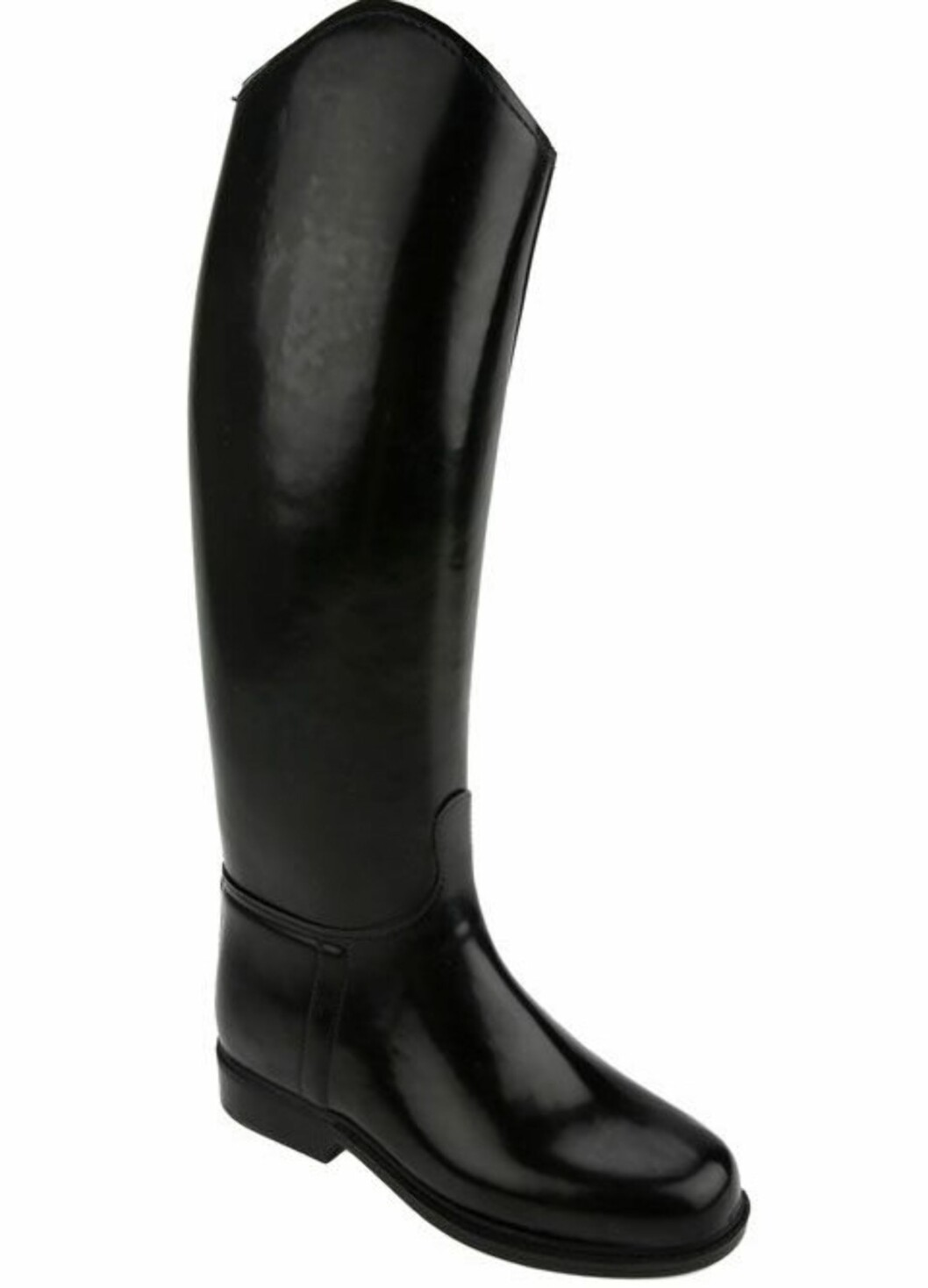 Svarte  høye slagstøvler i ridestøvelstil (kr 1950, Le Chameau/Lille Vinkel Sko).