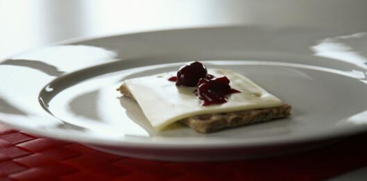 En liten ostekjeks kan holde deg gående til middag. Foto: colourbox.com
