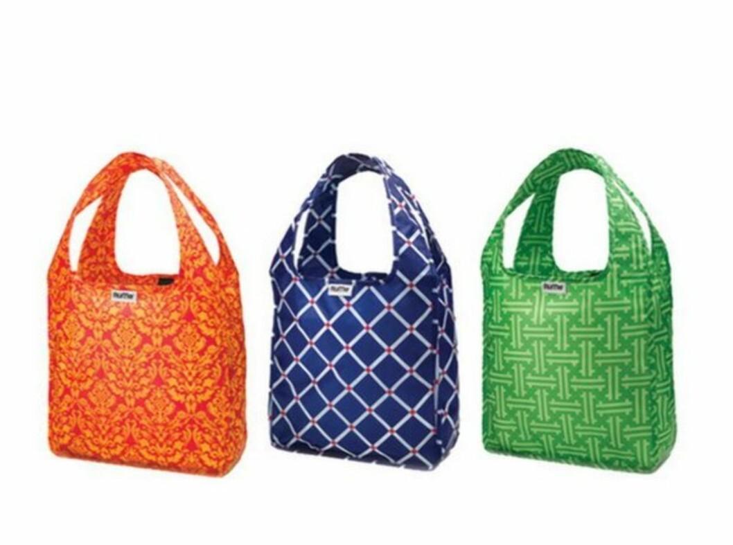 Nicole Richie er en stor fan av disse resirkulerbare RuMe-veskene, som er å få i mange ulike farger, størrelser og mønstre. Din for cirka 60 kroner på rumebags.com.