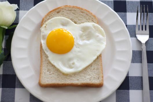 Start dagen med et egg - det holder deg blant annet mett lengre. Foto: colourbox.com