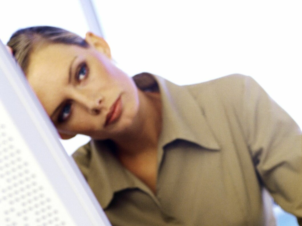 En daff dagdrømmer om dagen? Heldigvis finnes det gode råd som kan få bukt med sløvsinnet.  Foto: colourbox.com