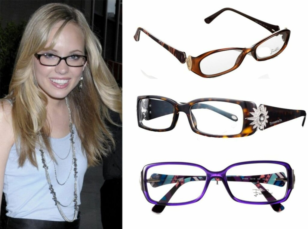 2a531a158dbe Brillene til den amerikanske skuespilleren Meaghan Jette Martins er både  tøffe og feminine