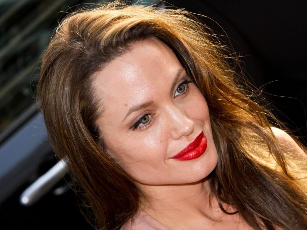 NR. 1: Angelina Jolie topper Forbes liste for første gang. Foto: All Over Press