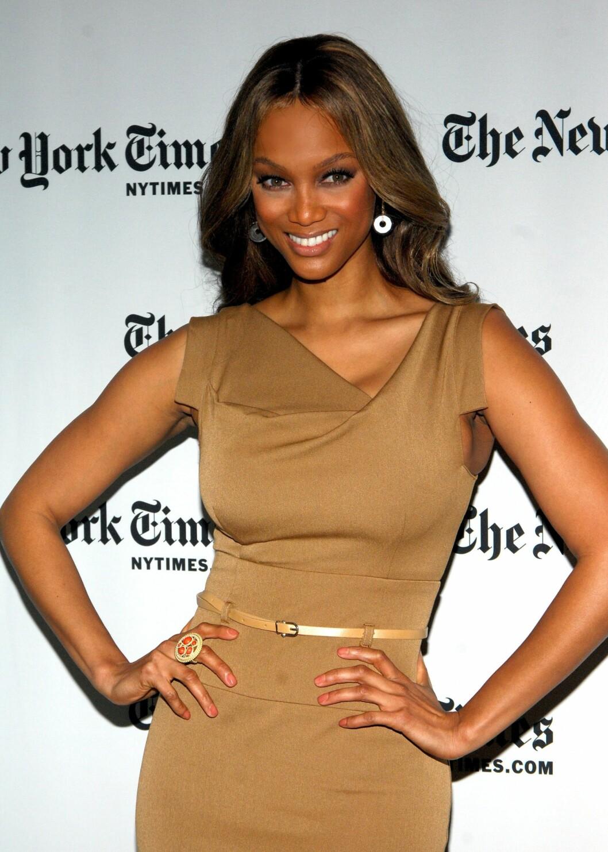 Tyra Banks har lagt den syltynne tiden som supermodell bak seg - og hun kler det.  Foto: All Over Press