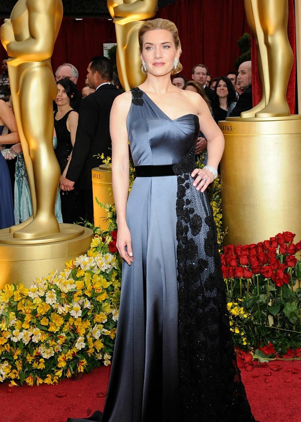 Skuespiller Actress Kate Winslet fra Oscar-utdelingen i februar i år.  Foto: All Over Press