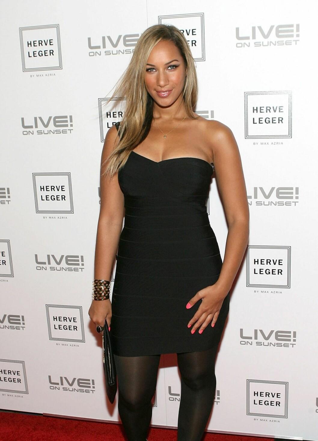 En stigende stjerne på musikkhimmelen, Leona Lewis.  Foto: All Over Press