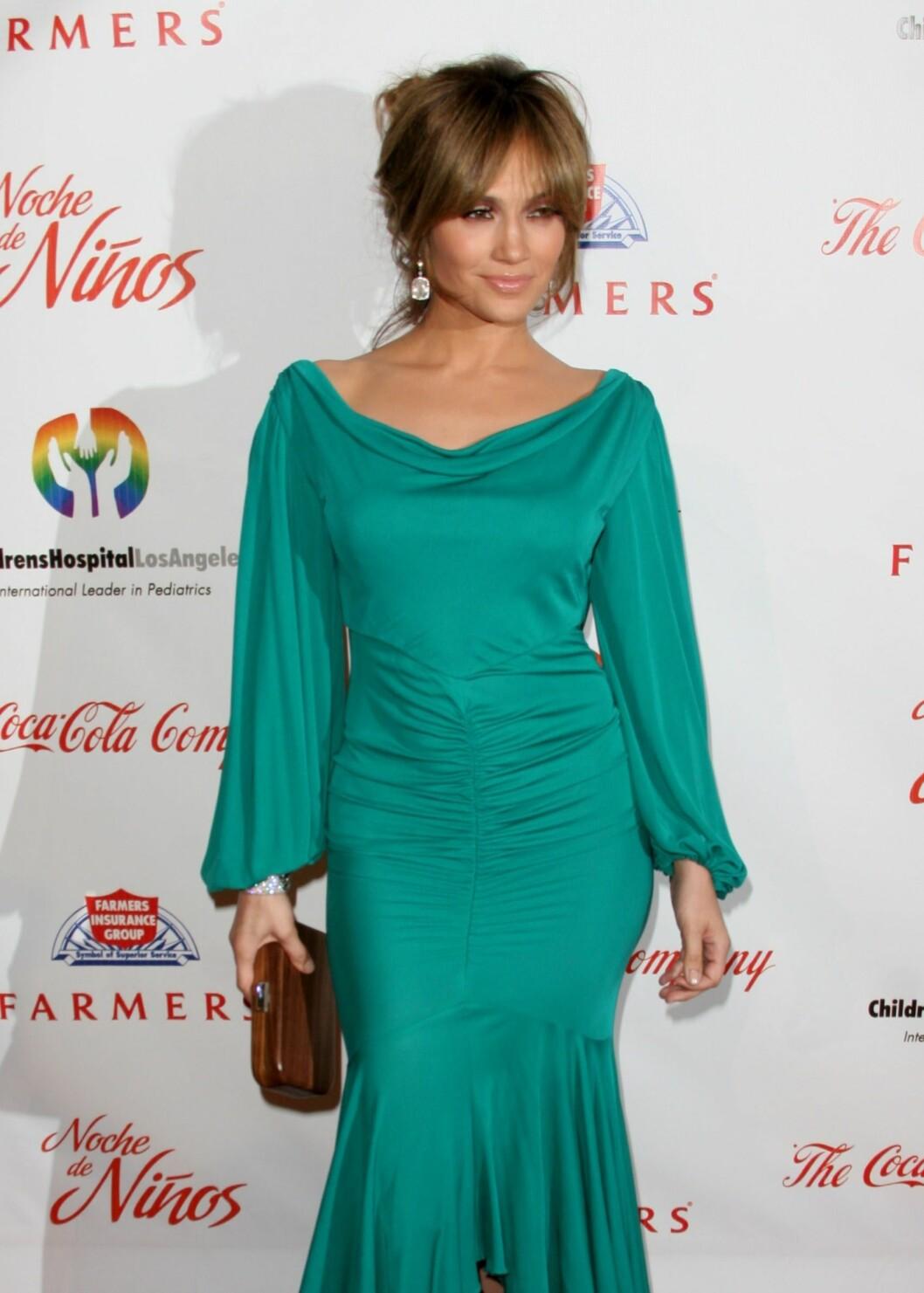 Jennifer Lopez har aldri vært redd for å vise formene sine. Foto: All Over Press