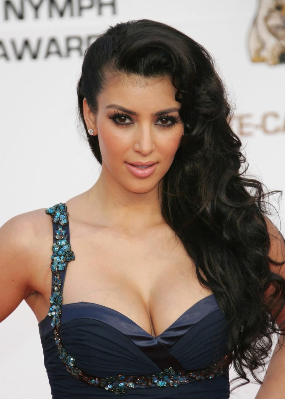 TV-personlighet Kim Kardashian  Foto: All Over Press