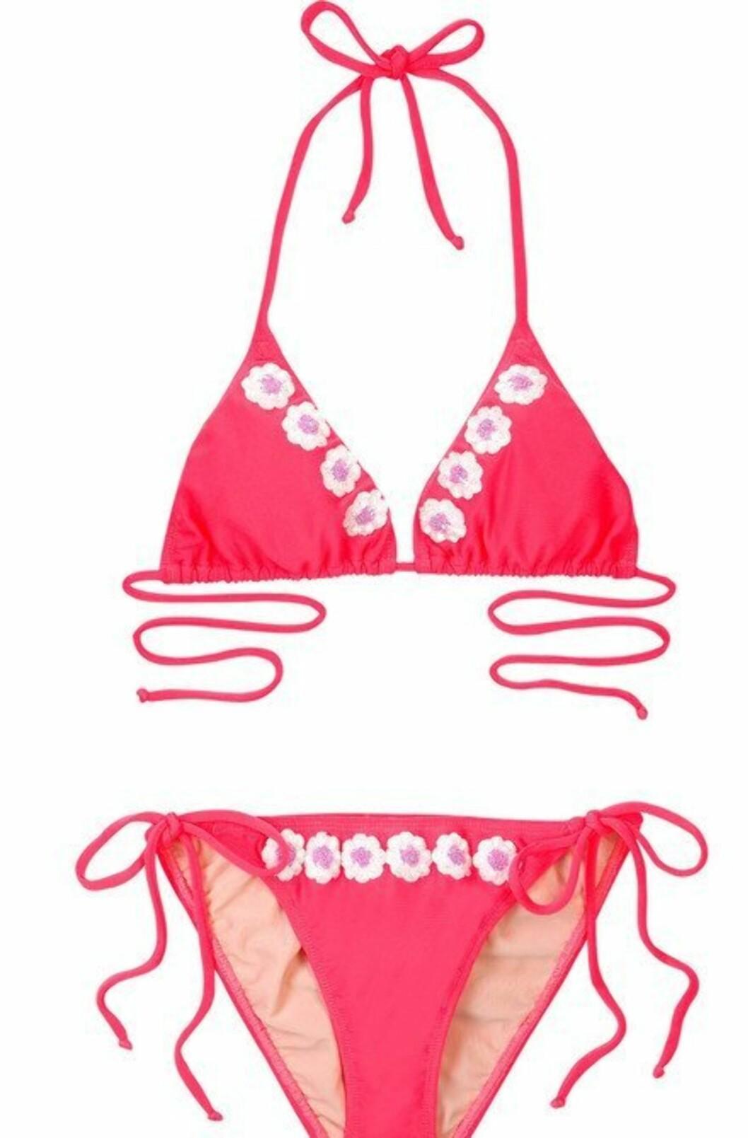 BLOMSTERBARN: Søtt i rosa (kr 2240, Tara Matthews/Netaporter.com).