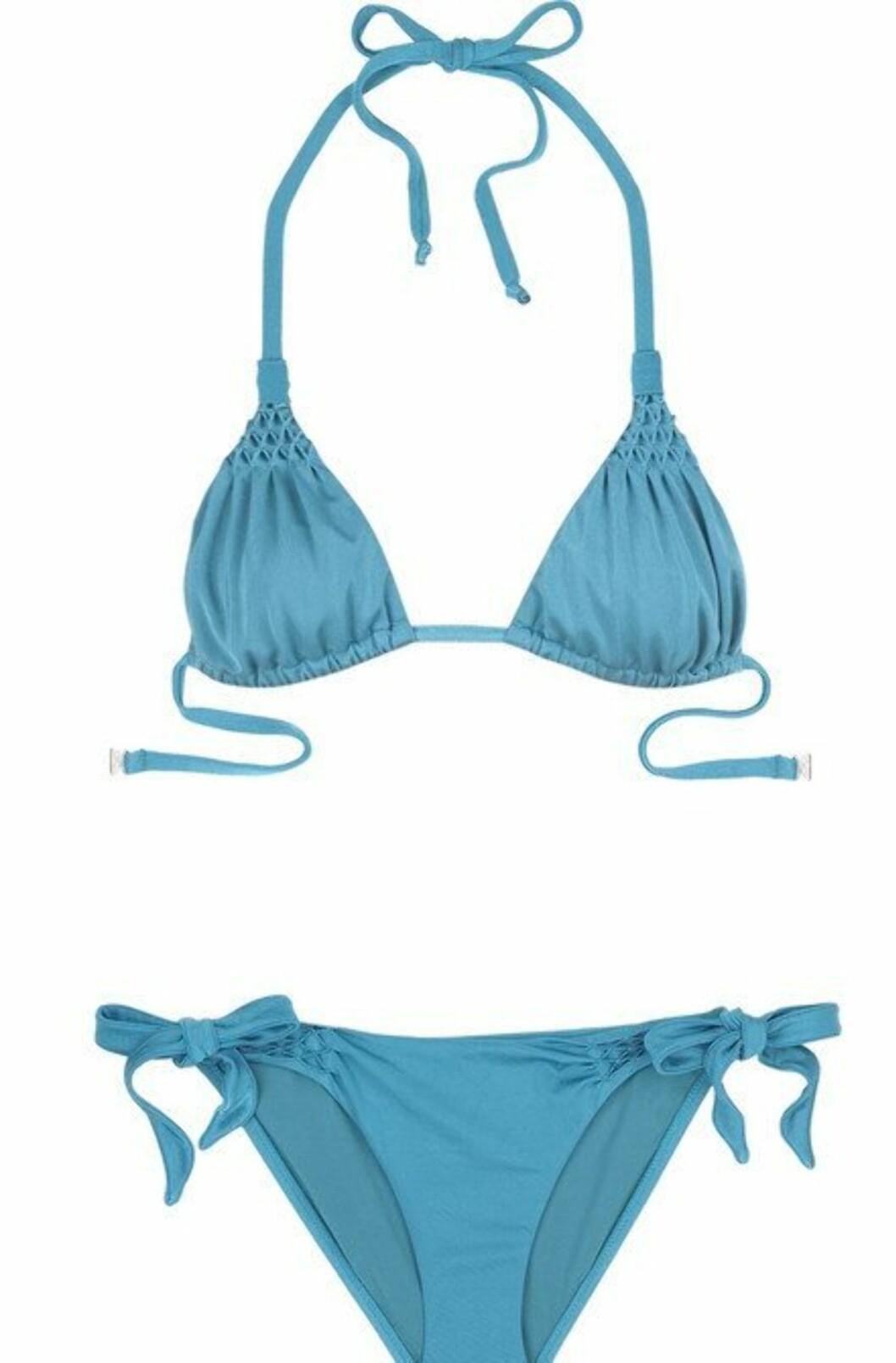 GLAMORØS: Nydelig bikini med feminine detaljer (cirka kr 2000, Diane von Furstenberg/Netaporter.com).