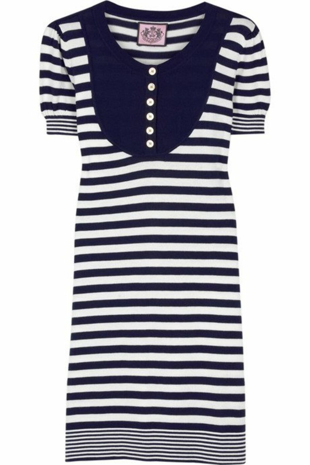 <strong>50 PROSENT AVSLAG:</strong> Kjole i maritim stil (kr 1000, Juicy Couture).